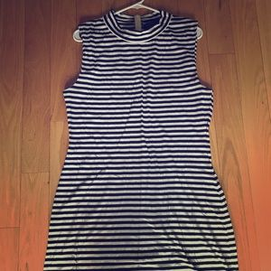 French connection stripes dress